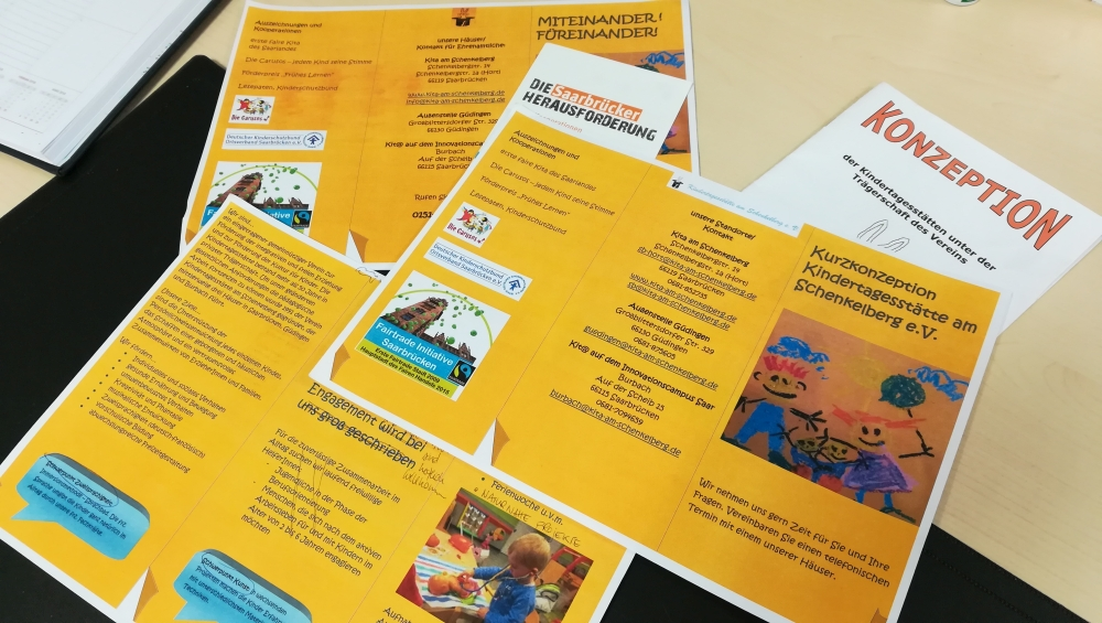 Kooperation: Neugestaltung des Infoflyers für die Kita
