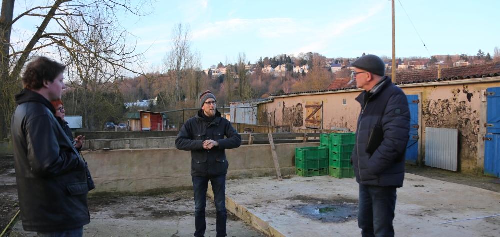 Kooperation: Beratung zur Umgestaltung des Gartens des Stadtbauernhofs