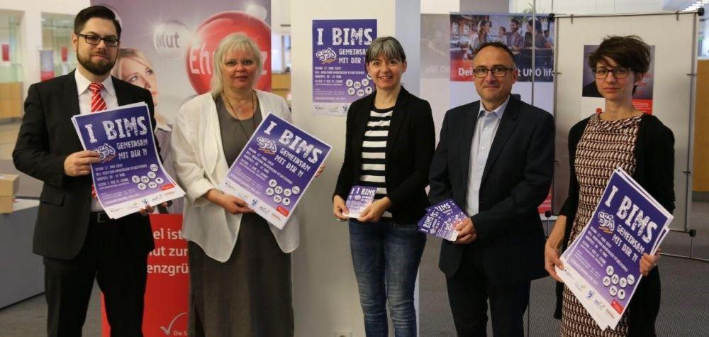 Kooperation: Flyer und Poster für die integrativen Sportfeste