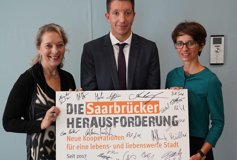 Die Saarbrücker Herausforderung feiert einjähriges Bestehen: 44 Kooperationsvorhaben umgesetzt